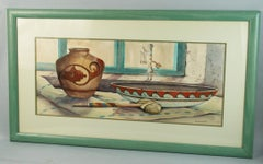 American South West Indian Still life Watercolor