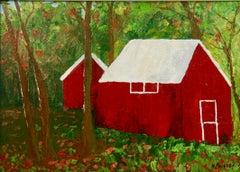 Red Barn Landscape