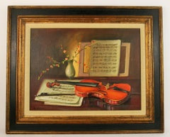 Violin Music Still Life