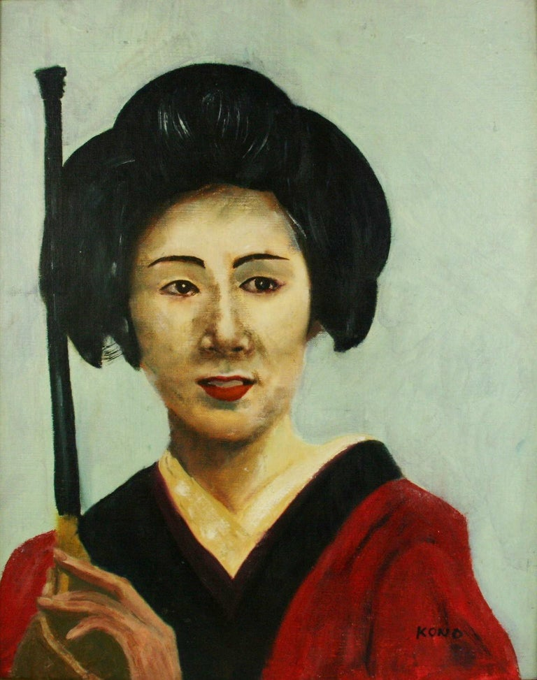 Japanese Portrait Painting