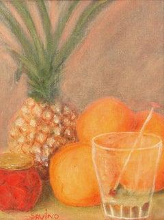 Pineapple Still Life Painting