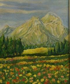Alps Landscape Painting
