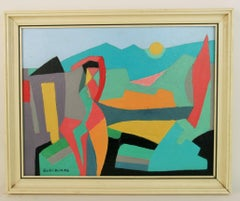 Figurative Landscape Abstract