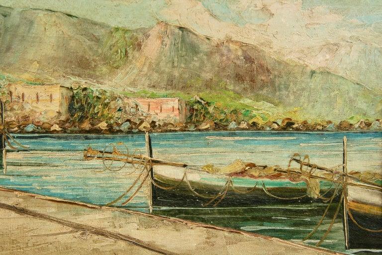 Amalfi Coastal Painting For Sale 2