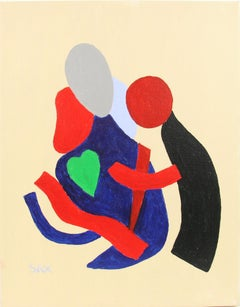Cubic LOVERS  Figures Painting