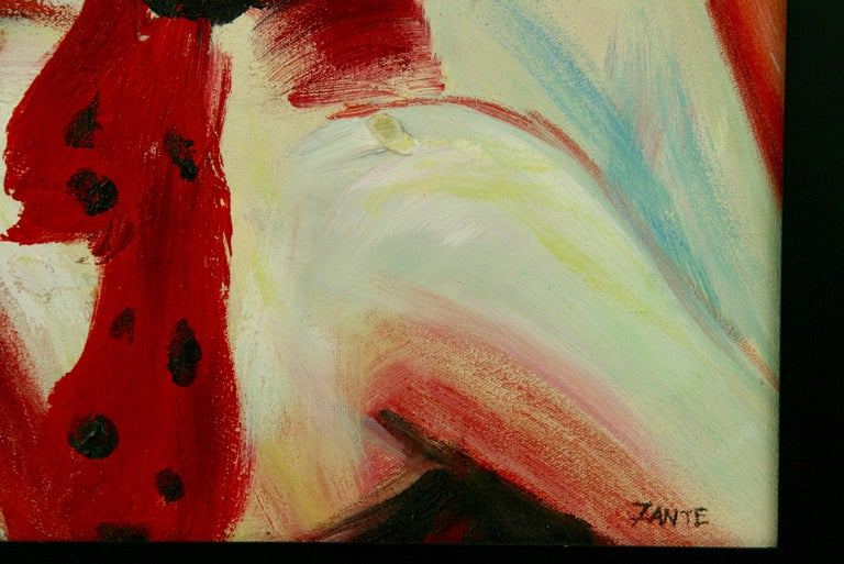 Red Hat Figurative Painting For Sale 1