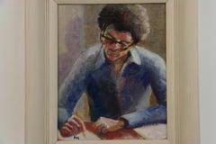 The Poet Male Portrait Painting