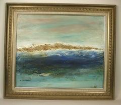 California Impressionist Seascape Painting