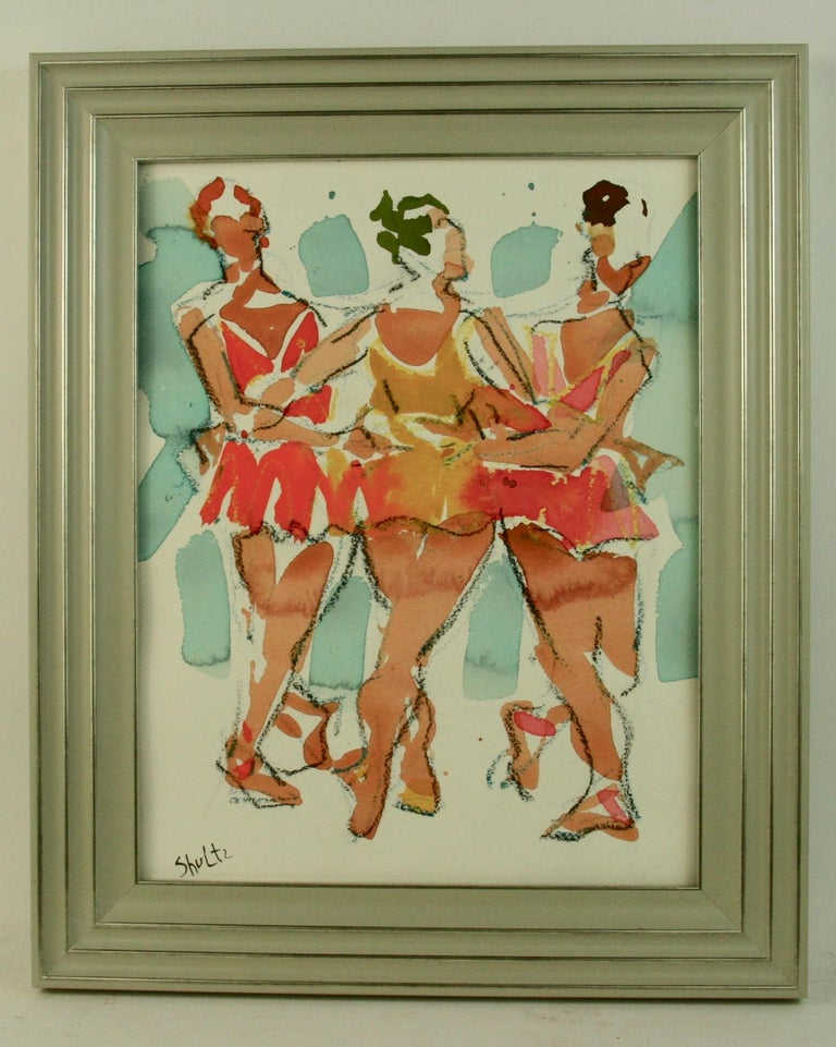 Broadway Female  Dancers Figurative For Sale 2