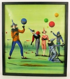 Surreal Circus Clowns
