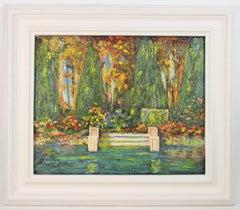 French Lily Pond Landscape
