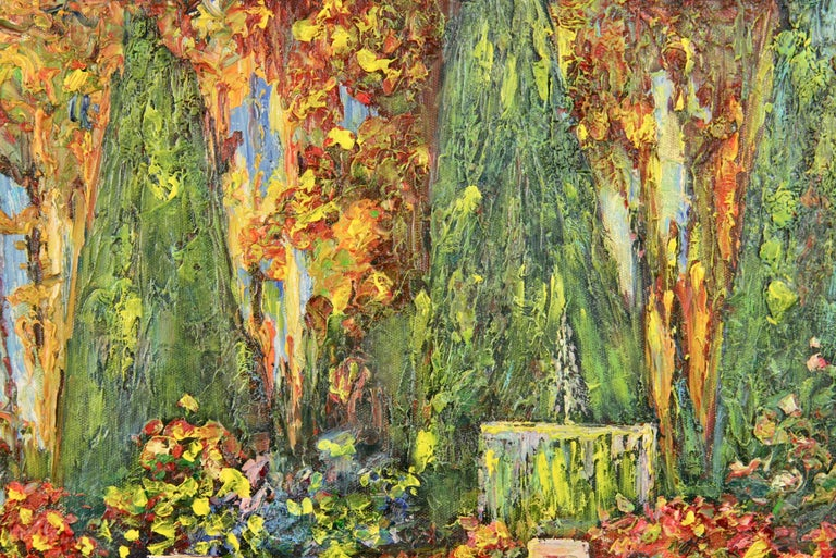 French Lily Pond Landscape For Sale 2