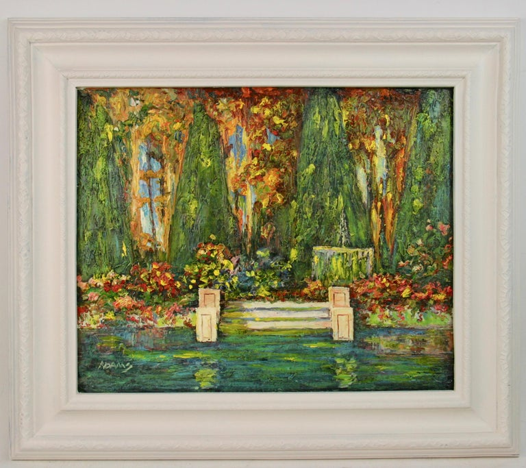 French Lily Pond Landscape For Sale 3