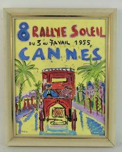 Rallye Soleil Auto Race South  of France Landscape