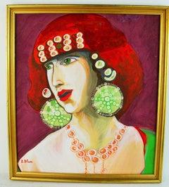 Gypsy Woman Figurative Painting
