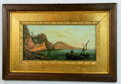 Bay of Naples  Landscape Painting