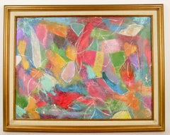 Colors Play Abstract Painting