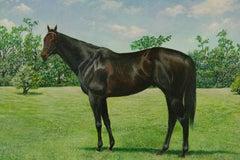 Thorough Bread Equestrian Painting