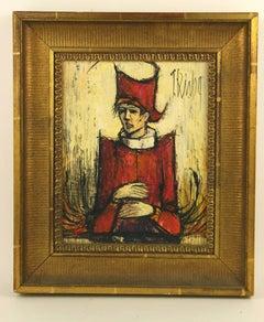 Court Jester Impressionist Figurative  Painting