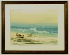 Saint Martin Beach Scene Seascape