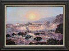 Pacific Ocean Sunset Seascape