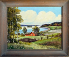 River & Farm Landscape