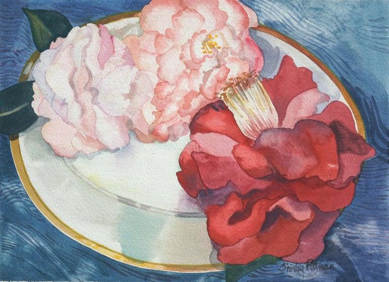 Shirley Putman Still-Life - Camellias Still Life