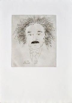 """""""A L E"""" Albert Einstein Portrait #9"""