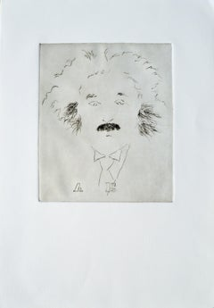 """""""A E"""" Albert Einstein Portrait #7"""