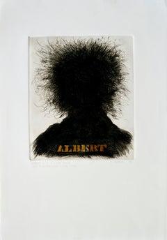 """""""Albert"""" Albert Einstein Portrait #5"""