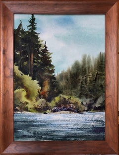 Russian River Landscape at Bohemian Grove, California 2002