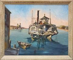 Mid Century Memphis Ferryboat
