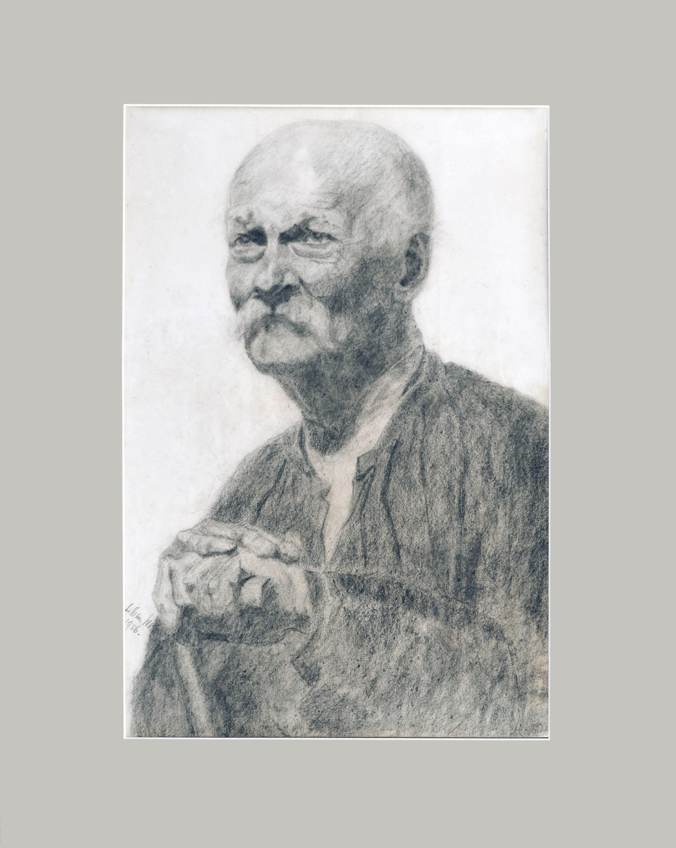 Mid Century Portrait of a Gentleman