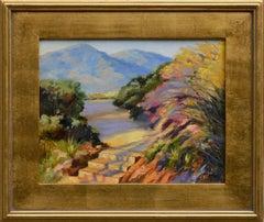 Mt Tamalpais and Bon Tempe Lake California Landscape