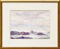 """Rock Bound Coast"" - 1930s Carmel Landscape"