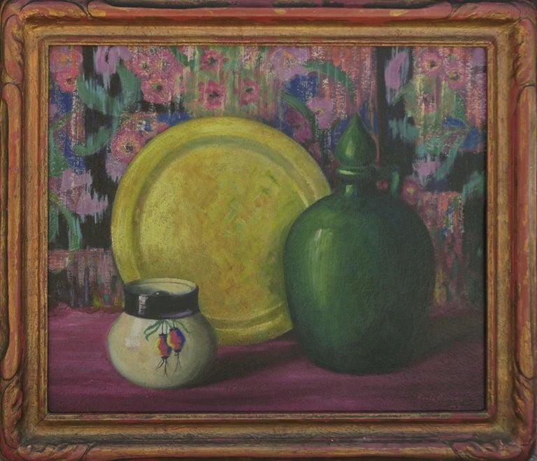 Renee Barnes Arts And Crafts Still Life Flowers