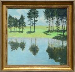 Trees & Pond