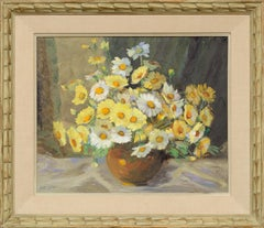 Yellow and White Daisies Still Life
