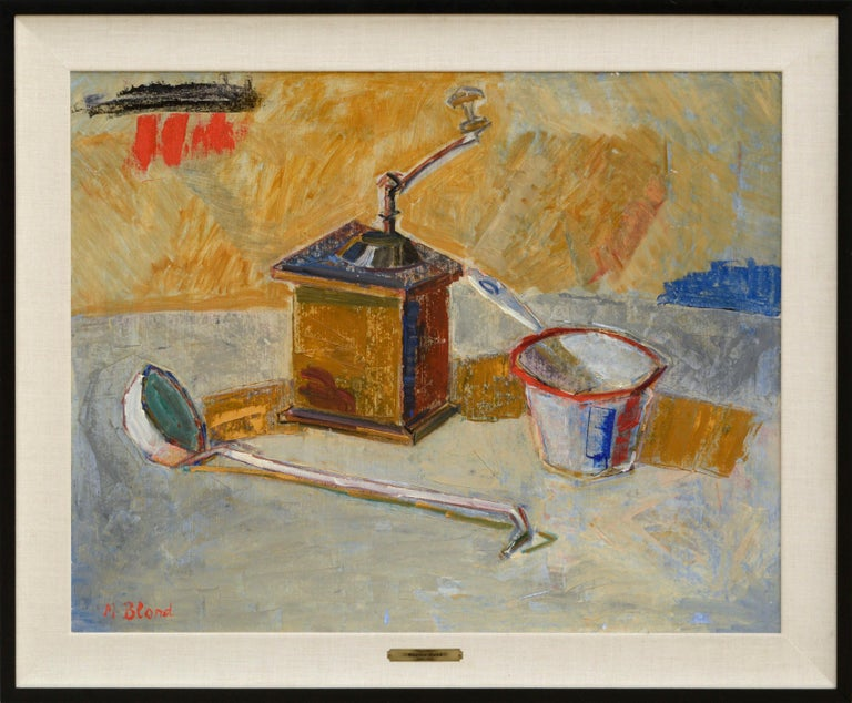 "Maurice Blond Still-Life Painting - ""Nature Morte"" Still Life"