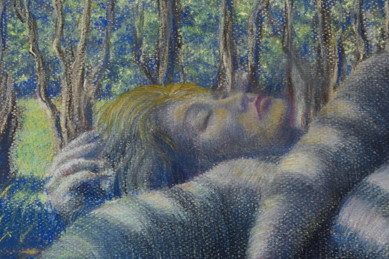 Sleeping Among the Trees - American Impressionist Art by Ken Bower