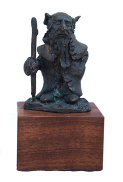 Little Man of Middle Earth Bronze Sculpture