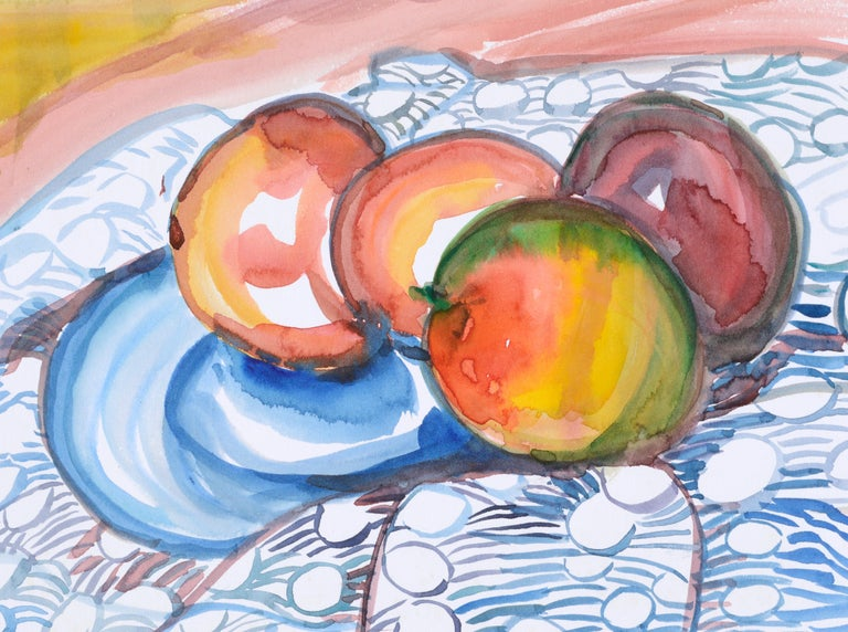 Still Life with Apples For Sale 1