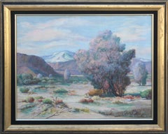 Mid Century Palm Springs Desert Landscape