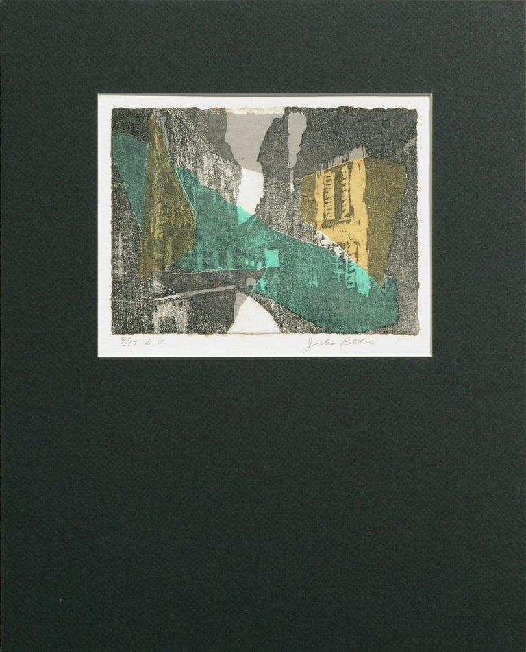 Julia Pitcher Landscape Print - Abstract Cityscape