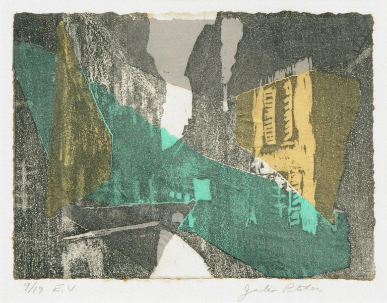 Abstract Cityscape - Print by Julia Pitcher