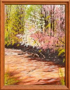 Dogwoods in Bloom - Landscape