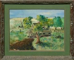 Mid Century Rustic Farmhouse Landscape