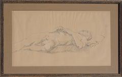 Prone Male Nude Study