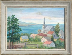 Early 19th Century Santa Cruz Landscape