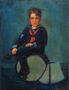 Late 19th Century Sailor Boy Portrait